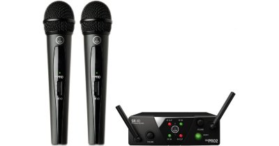 AKG WMS40 Mini2 Vocal Set BD US25B/D (537.900&540.400)