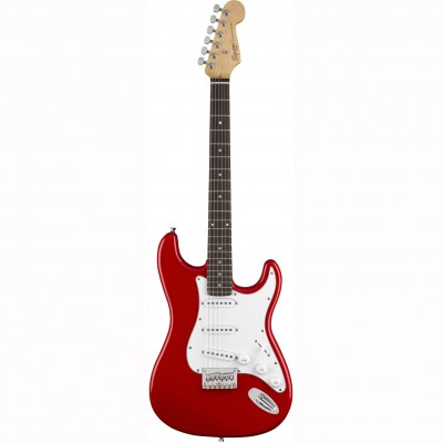 Fender Squier MM Stratocaster Hard Tail Red - электрогитара