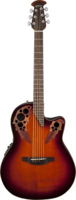OVATION CE44-1 Elite® Celebrity® Mid-Depth Cutaway Sunburst