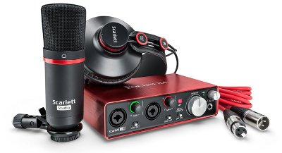FOCUSRITE SCARLETT STUDIO 2ND GEN