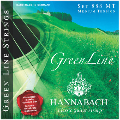 Hannabach 888 HT Blue Greenline