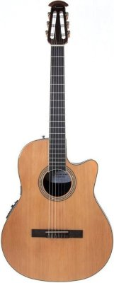 Ovation CS24C-4 Celebrity Standard Mid Cutaway Natural  - Гитара классическая