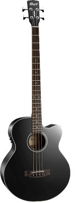 Cort AB850F-BK Acoustic Bass Series - бас гитара