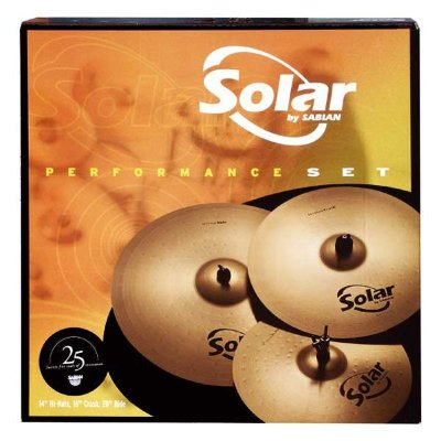 SABIAN 05003 SOLAR PERFORMANCE SET