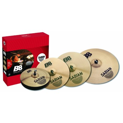 SABIAN 45003G B8 PERFORMANCE SET PLUS