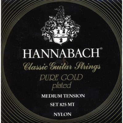 Hannabach 825MT Black PURE GOLD