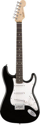 Fender SQUIER MM Stratocaster Hard Tail Black - Электрогитара
