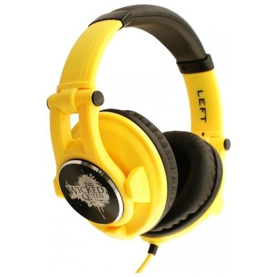 Fischer Audio Wicked-Queen-Yellow Galaxy Series Наушники