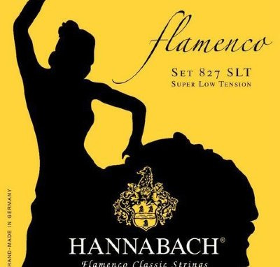 Hannabach 827SLT Yellow FLAMENCO