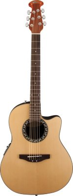 Ovation APPLAUSE AB24-4 Balladeer Mid Cutaway Natural